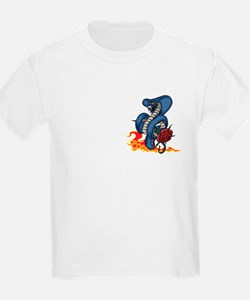 Snake, Rose, and Fire. T-Shirt
