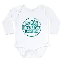 Big Brother Loves Me Long Sleeve Infant Bodysuit
