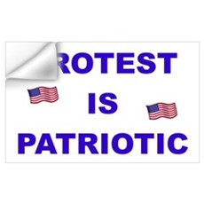 Protest is Patriotic Wall Decal
