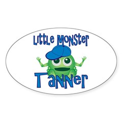 Little Monster Tanner Decal