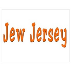 Jew Jersey Poster