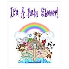It's A Baby Shower (Noah's Arc) Poster
