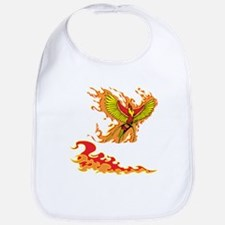 Phoenix and Flames Bib