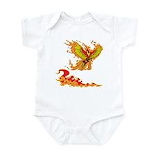 Phoenix and Flames Infant Bodysuit