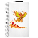 Phoenix bird picture Journals & Spiral Notebooks