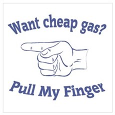 Want Cheap Gas? Framed Print