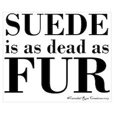 Suede = Dead Poster