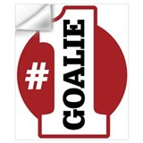 Number 1 goalie Wall Decals