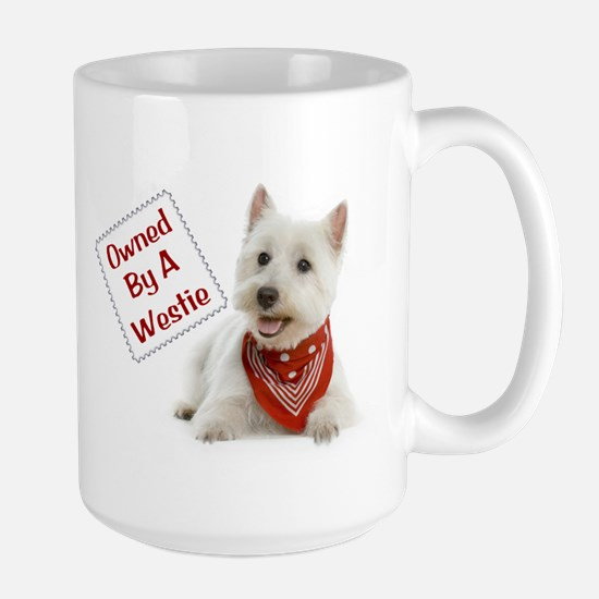 Own By A Westie 125 Mugs