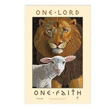One Lord, One Faith Postcards (Package of 8)