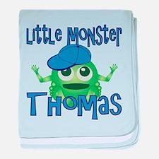 Little Monster Thomas baby blanket