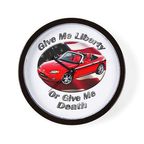 Mazda MX-5 Miata Wall Clock