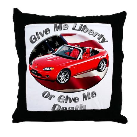 Mazda MX-5 Miata Throw Pillow