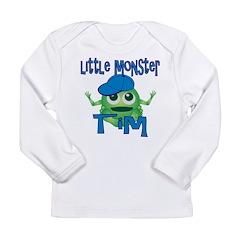 Little Monster Tim Long Sleeve Infant T-Shirt