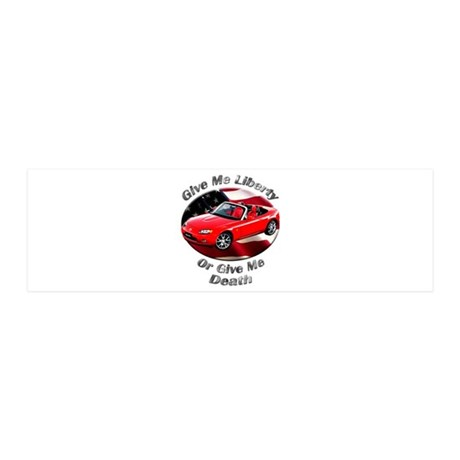 Mazda MX-5 Miata Small Wall Peel