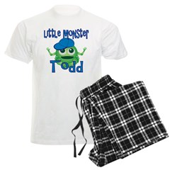 Little Monster Todd Men's Light Pajamas