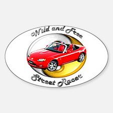 Mazda MX-5 Miata Sticker (Oval 10 pk)