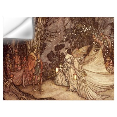 Oberon & Titania Wall Decal