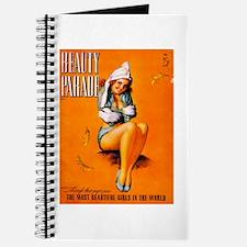 Beauty Parade Girl Pin Up Journal