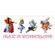 ALICE IN WONDERLAND & FRIENDS Canvas Art