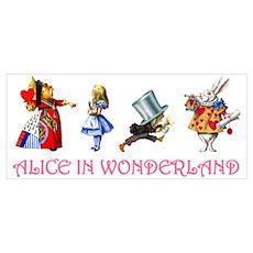 ALICE IN WONDERLAND & FRIENDS Poster