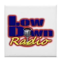 Lowdown Radio Tile Coaster