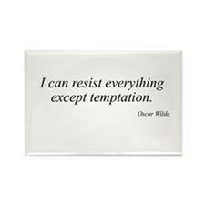 Oscar Wilde quote 4 Rectangle Magnet