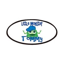Little Monster Tommy Patches