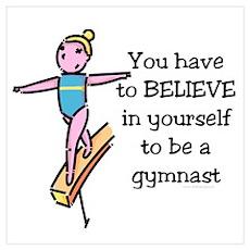 Believe Gymnastics Poster
