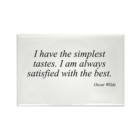 Oscar Wilde quote 8 Rectangle Magnet