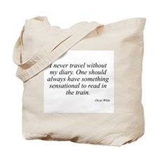 Oscar Wilde quote 10 Tote Bag