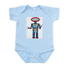 Robot Math Infant Bodysuit