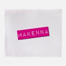 Makenna Punchtape Throw Blanket