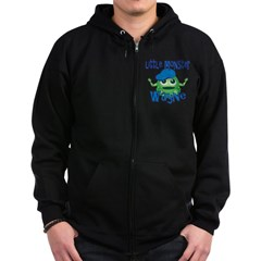 Little Monster Wayne Zip Hoodie
