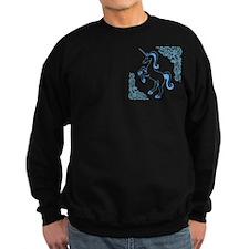 Blue Unicorn Sweatshirt