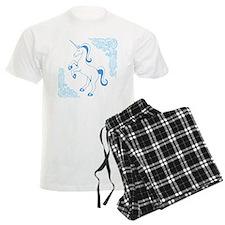 Blue Unicorn Pajamas