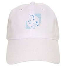 Blue Unicorn Baseball Cap