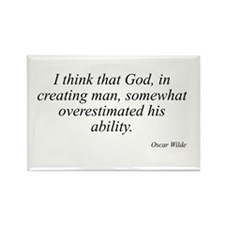 Oscar Wilde quote 16 Rectangle Magnet