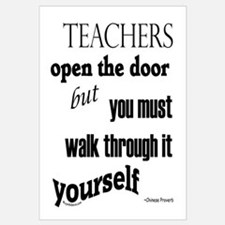 Teachers open the door...2