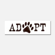 Adopt an Animal Car Magnet 10 x 3