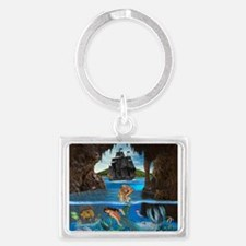 Mermaids of the Pirate Cave Keychains