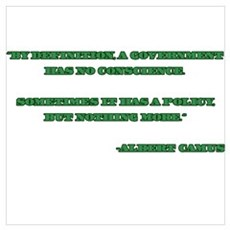 Camus Government Quote Poster
