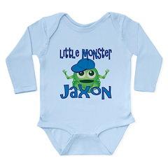 Little Monster Jaxon Long Sleeve Infant Bodysuit