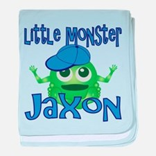 Little Monster Jaxon baby blanket