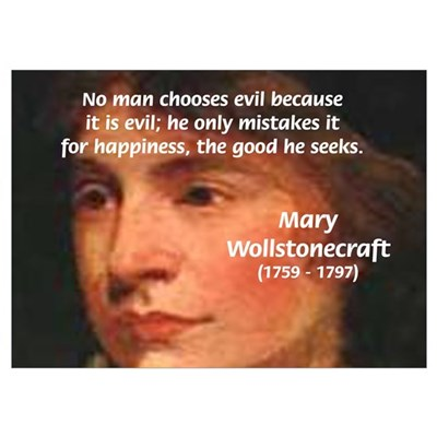 Feminist Mary Wollstonecraft Poster