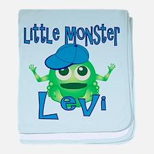 Little Monster Levi baby blanket