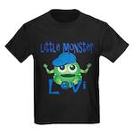 Little Monster Levi Kids Dark T-Shirt