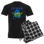 Little Monster Levi Men's Dark Pajamas