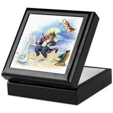 Cat and the Fiddle Keepsake Box