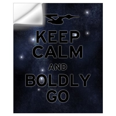 Star Trek Boldly Go Wall Decal